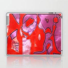 Crazy Red Laptop & iPad Skin