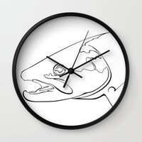 trout Wall Clocks featuring trout  by Ed Hepp