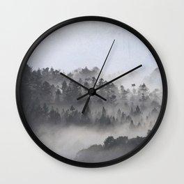 The Foggy Dales Wall Clock