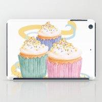sprinkles iPad Cases featuring Sprinkles by Hayley Bowerman Design