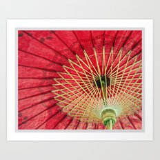 Color Theory, Red Art Print