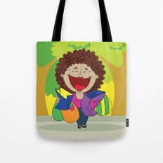 Inspired on my mom, when she just can't stop laughing!   Tote Bag