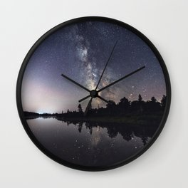 Rotate with the Galaxy Wall Clock