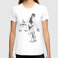 libra T-shirts featuring Libra by PAgata