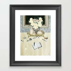Perfumer at work Framed Art Print