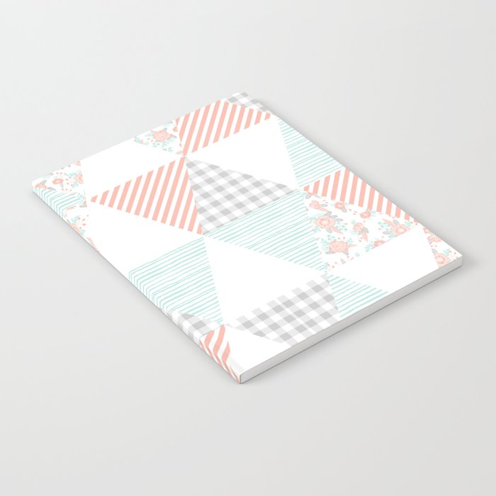 Trendy Quilt Pattern Triangle Quilt Baby Nursery Gender Neutral