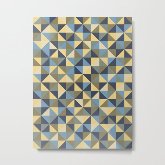 Shapes 003 ver 2 Metal Print