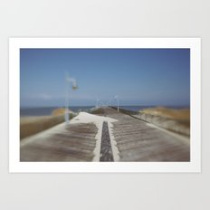 Henlopen Pier Art Print