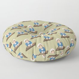 Morning Coffee  Floor Pillow