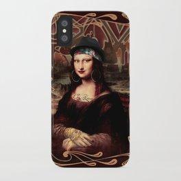 Chicana Mona Lisa iPhone Case