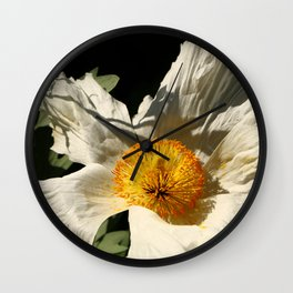 Sitting The Sun Wall Clock