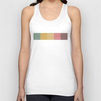 hot air balloons Tank Tops featuring Hot Air Balloons by SwatchTheory