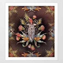 Jardin secret Art Print