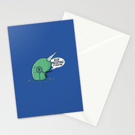Evil Narwhal Favors Global Warming Stationery Cards