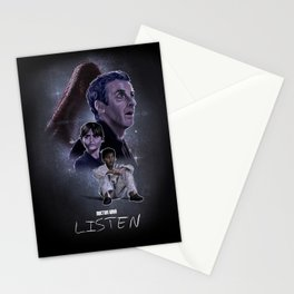 Doctor Who: Listen Stationery Cards