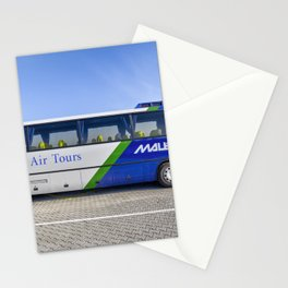 Malev Airlines Bus Stationery Cards