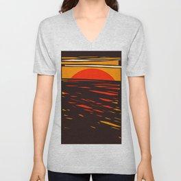Sol del Desierto Unisex V-Neck