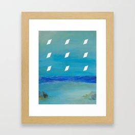 Night Imprint Framed Art Print