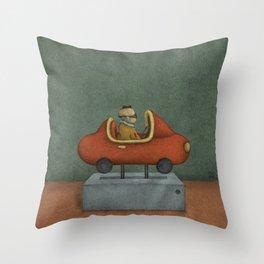 Road to Nowhere - Panel 2 Throw Pillow