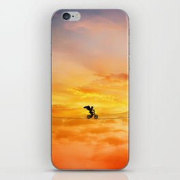 sunset balance iPhone Skin