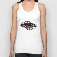 ying yang Tank Tops featuring VW Ying and Yang by Vin Zzep