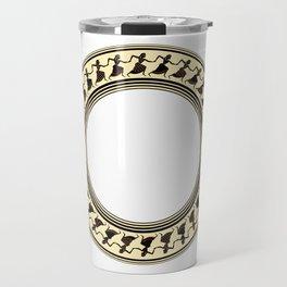 Etruscan Dancers Travel Mug