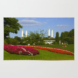 Battersea Power Station and Battersea Park Rug