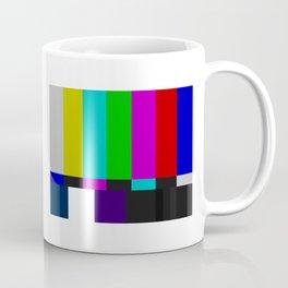 SMPTE Color Bars (as seen on TV) Coffee Mug
