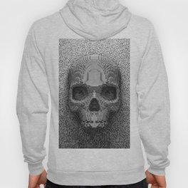 Pixel Skull B&W Hoody