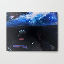 You and I and Our Universe Metal Print