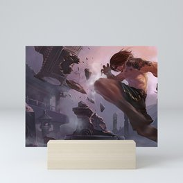 Traditional Lee Sin League of Legends Mini Art Print