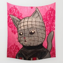 Cathouse Of Horrors Series: Pinhead Wall Tapestry