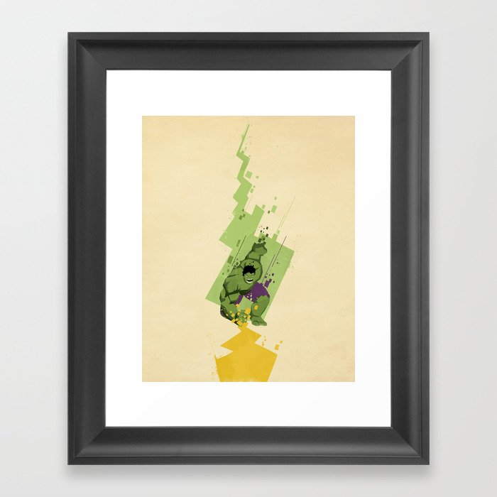 Fracture Framed Art Print