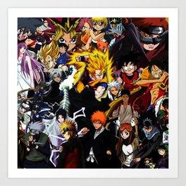 anime all Art Print