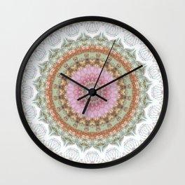 Mandala Guardian Angel Wall Clock
