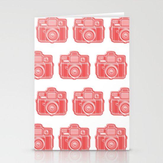 I Still Shoot Film Holga Logo - Red Stationery Cards