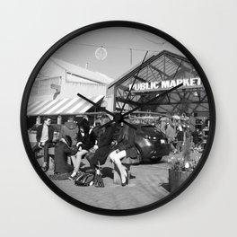 Granville Island Public Market 1 Wall Clock