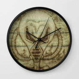 Message from Mars Wall Clock