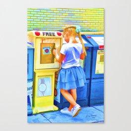 It's Free Canvas Print