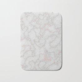 Marble Rosegold Texure Bath Mat
