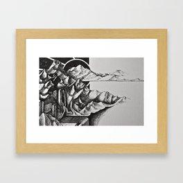 Harmony Sketch 2 Framed Art Print