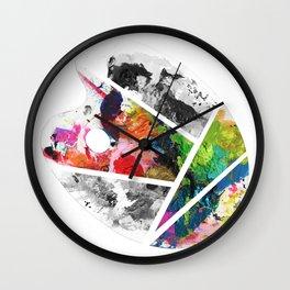 Pallet Inspiration Wall Clock