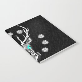 Silver Stag Geometric Notebook