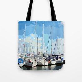 Harbor flair Tote Bag