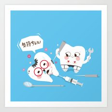 SM Tooth Art Print
