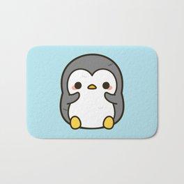 Shy penguin Bath Mat