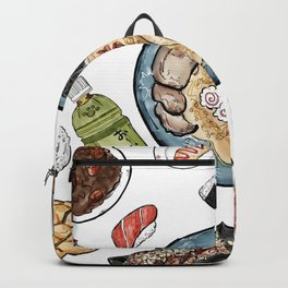 Favourite Japanese Foods Backpack