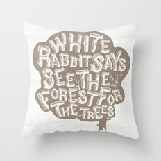 See the Forrest for the Trees Throw Pillow