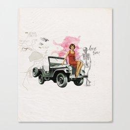 Bomshell Canvas Print
