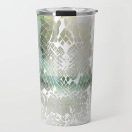 Fractured Silver Travel Mug